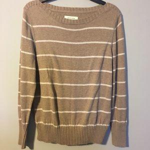Sonoma Glitter Striped Sweater  Sz M